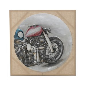 Bike Tablou, Canvas, Multicolor
