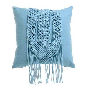 Boho Perna decorativa, Textil, Albastru