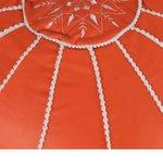 Bolin Taburet, Textil, Portocaliu