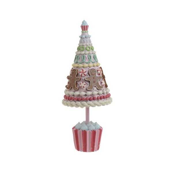 Candy Decoratiune copac, Polirasina, Multicolor