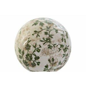 Casian Bila decorativa, Ceramica, Alb