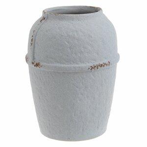 Clay Vaza Mare, Ceramica, Alb