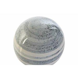 Daia Bila decorativa, Ceramica, Alb