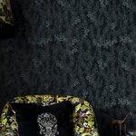 Dark Leaves Set 3 role tapet, Netesut, Gri