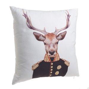 Deer Perna decorativa, Textil, Multicolor