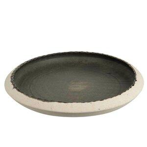 Dish Farfurie decorativa, Ceramica, Negru