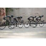 Dwight Decoratiune ciclist mare, Fier, Negru