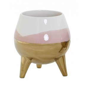 Eldin Suport ghiveci, Ceramica, Roz