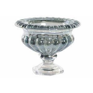 Flory Vas decorativ, Sticla, Transparent