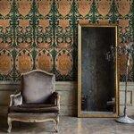 Fontainebleau Anthracite Set 3 role tapet, Netesut, Multicolor