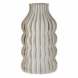 Fotini Vaza, Ceramica, Alb
