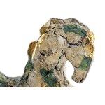 Galope Statueta cal, Polirasina, Metal
