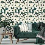 Gramercy Ivory Tapet, Netesut, Multicolor