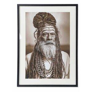 Hindu Tablou, MDF, Alb