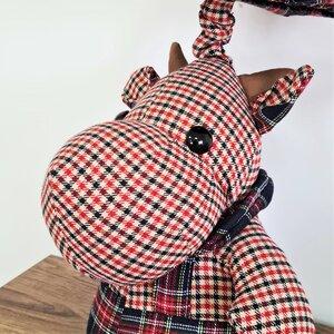 Hipo Veioza Hipopotam, Textil, Multicolor