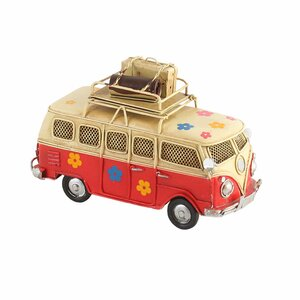 Hippie Decoratiune miniatura masina, Metal, Multicolor