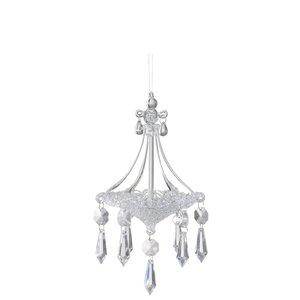 Ilona Decoratiune Lustra, Sticla, Transparent