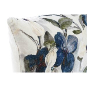 Iris Perna decorativa, Bumbac, Alb
