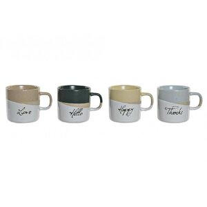 Joel Set 4 cani, Ceramica, Alb