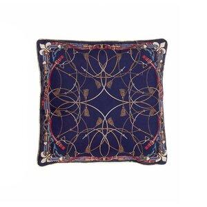 Katarina Perna decorativa, Textil, Albastru