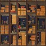 Korean Library Set 3 role tapet, Netesut, Multicolor