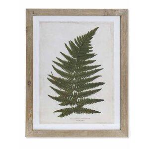 Leaf Tablou, MDF, Verde
