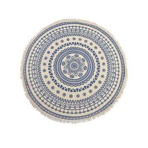 Lorand Covor rotund, Textil, Albastru