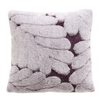 Lorand Perna decorativa, Textil, Rosu