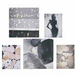 Lunna Set 5 Tablouri, Canvas, Multicolor