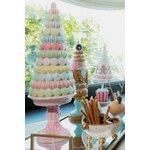 Macaron Decoratiune copac, Polirasina, Multicolor