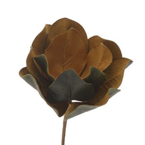 Mack Floare artificiala, Plastic, Maro