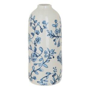 Macy Vaza, Ceramica, Alb