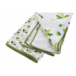 Magnolia Servet bucatarie, Textil, Verde