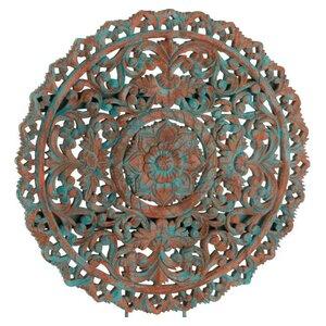 Mandala Decoratiune, Lemn, Multicolor