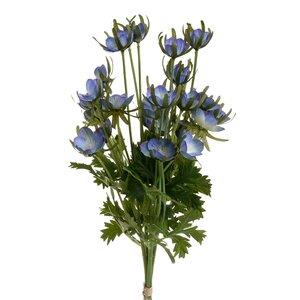 Mavra Floare decorativa, Plastic, Albastru