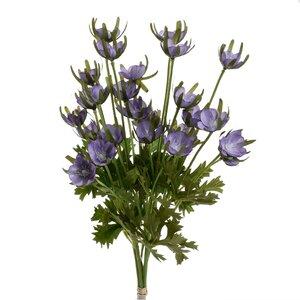 Mavra Floare decorativa, Plastic, Mov