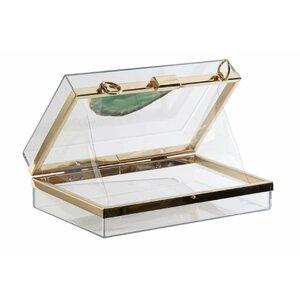 Moddi Cutie bijuterii, Sticla, Transparent