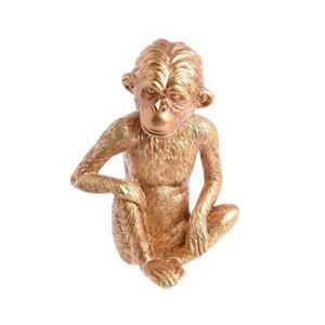 Monkey Decoratiune maimuta, Polirasina, Auriu
