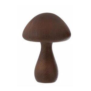 Mushroom Decoratiune ciuperca mica, Lemn, Negru