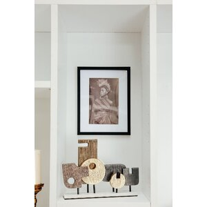 Orfeu Decoratiune, Metal, Negru