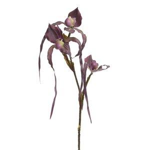 Orhidee Floare artificiala, Plastic, Mov