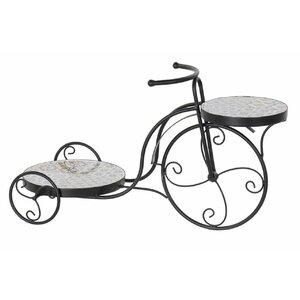 Oxana Suport ghivece bicicleta, Metal, Negru