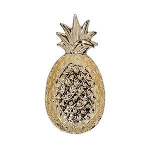 Pinny Platou ananas, Ceramica, Auriu