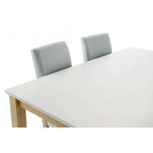 Rami Set masa si 4 scaune, Lemn, Albastru