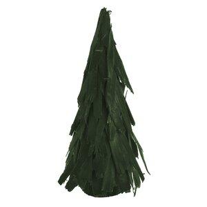 Regina Copac decorativ, Textil, Verde
