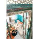 Rhomb Perna decorativa, Bumbac, Multicolor