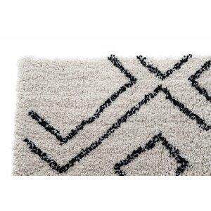 Roku Covor traversa, Textil, Alb
