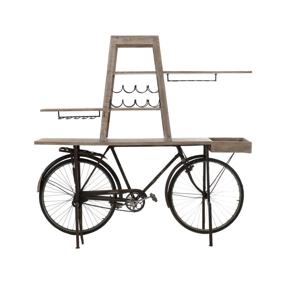 Rover Bar Bicicleta Lemn Maro