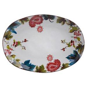 Selena Platou servire, Ceramica, Multicolor
