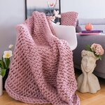 Spiral Perna decorativa, Textil, Roz